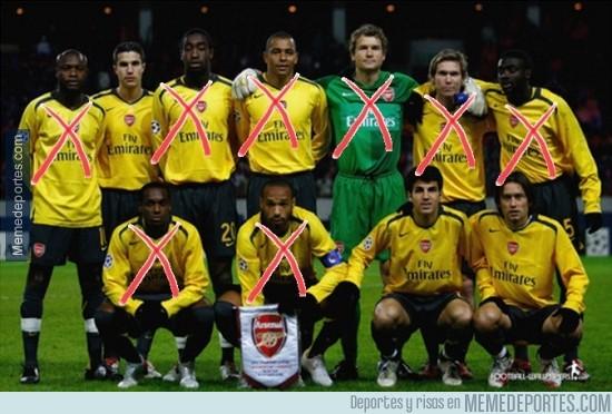 417732 - Tras el adiós de Henry, sólo quedan 3 en activo de aquel Arsenal imparable