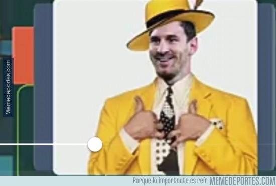417991 - Messi ya está listo para la gala del balón de oro