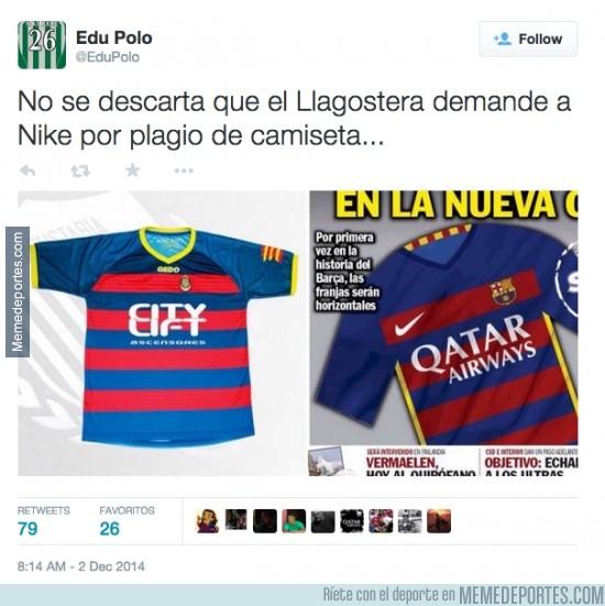 418003 - La nueva camiseta del Barça