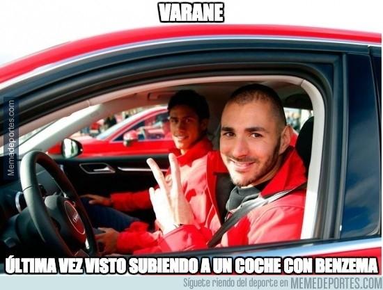 418016 - Si no quieres morir joven, no subas a un coche que conduzca Benzema