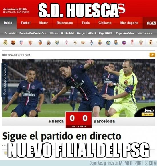 418615 - S.D. HUESCA, nuevo filial del PSG según As
