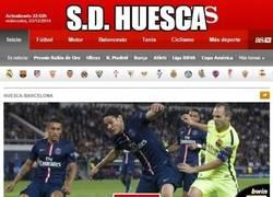 Enlace a S.D. HUESCA, nuevo filial del PSG según As