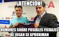 Enlace a ¡Atención! Menudo crack @josanferrandez7 del Huesca