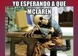 Enlace a Espera infinita a McLaren