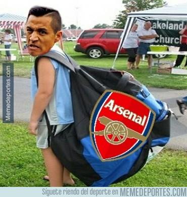 419241 - Alexis ya está preparado para el partido de esta noche ante el Galatasaray