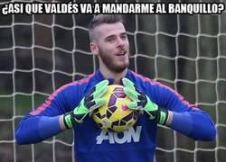 Enlace a ¿AsÍ que la titularidad de De Gea en el United peligra si fichan a Valdés?