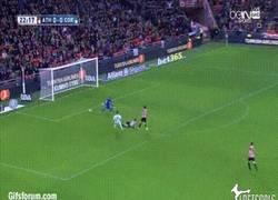 Enlace a GIF: Gol del Córdoba al Athletic, ¿conseguirán por fin ganar un partido?