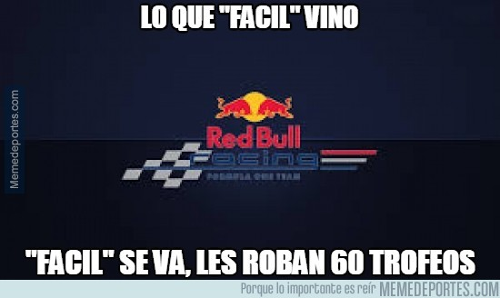 419474 - Asaltan la sede de Red Bull y roban 60 trofeos
