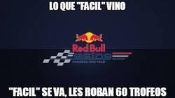Enlace a Asaltan la sede de Red Bull y roban 60 trofeos