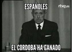 Enlace a La victoria del Córdoba merece un comunicado especial