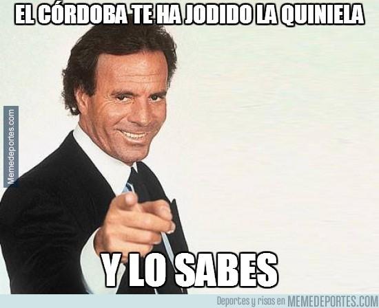 419548 - El Córdoba te ha jodido la quiniela