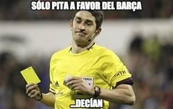 Enlace a Solo pita a favor del Barça