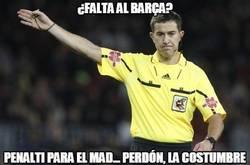 Enlace a ¿Penalti para el Barça? Eso nunca ocurrirá