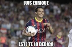 Enlace a Luis Enrique, el único que confía en Pedro
