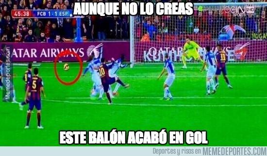 420410 - El brutal efecto en el gol de Messi