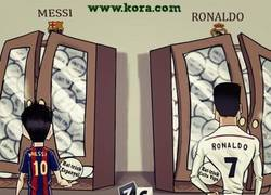 Enlace a Los hat-tricks de Messi y Cristiano