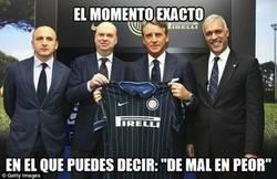 Enlace a Con Mancini, el Inter va de mal en peor