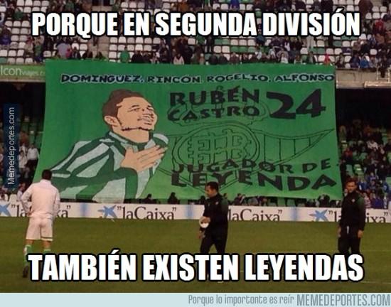 420548 - Rubén Castro, leyenda y goleador del Betis en segunda