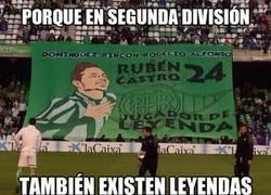 Enlace a Rubén Castro, leyenda y goleador del Betis en segunda