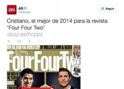 Enlace a ¡Brutal! As publica un 'tuit' con imagen de una portada en la que pone Penaldo en vez de Ronaldo