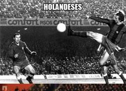 Enlace a Los holandeses y los goles con la espuela