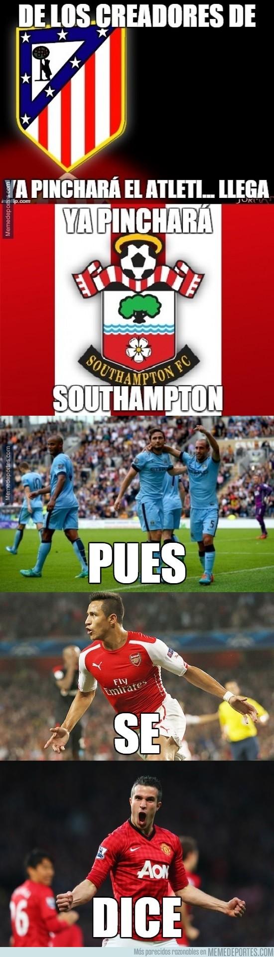 420704 - Southampton contra los grandes, ¡no es lo mismo!