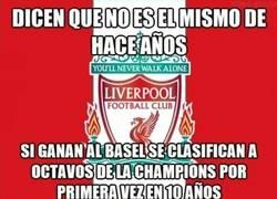 Enlace a El Liverpool eliminado de la Champions :(