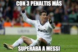 Enlace a ¡Con 3 penaltis más superaba a Messi!