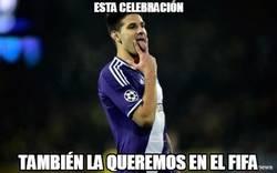 Enlace a Esta celebración también la queremos en el FIFA