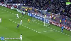 Enlace a GIF: Le dura poco la alegría al PSG, ¡Messi pone el 1-1!