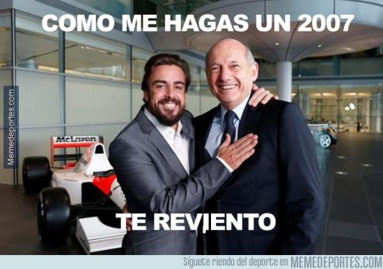 421949 - Alonso vuelve a encontrarse con Ron Dennis
