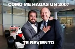 Enlace a Alonso vuelve a encontrarse con Ron Dennis