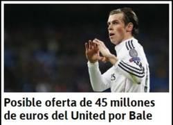 Enlace a ¿Vender a Bale por la mitad de lo que costó? Los del United no conocen a Florentino