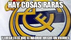 Enlace a Inesperado partido del Madrid hoy viernes