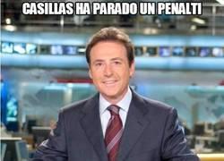 Enlace a Casillas ha parado un penalti