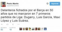 Enlace a Con vaya grupito le ha tocado estar a Luis Suárez