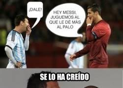 Enlace a La verdadera razón de los palos de Messi