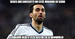 Enlace a Sabes que Ancelotti no está jugando en serio cuando...