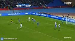Enlace a GIF: Gol de don Isco Alarcón, que pone el 0-4