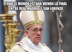 Enlace a El Papa Francisco tiene misa durante la final del Mundialito