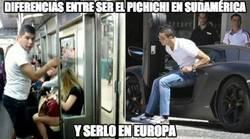 Enlace a Diferencias entre ser el pichichi en Sudamérica o serlo en Europa