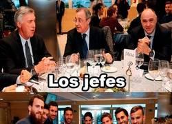 Enlace a Real Madrid, dividido por grupos