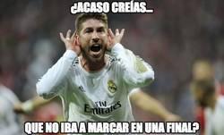 Enlace a Sergio Ramos no falla en las finales