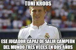 Enlace a Toni Kroos, campeón de campeones