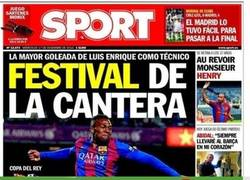 Enlace a Sport ya sospechaba de la paliza al Barça B