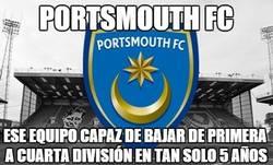 Enlace a Portsmouth FC, caída libre