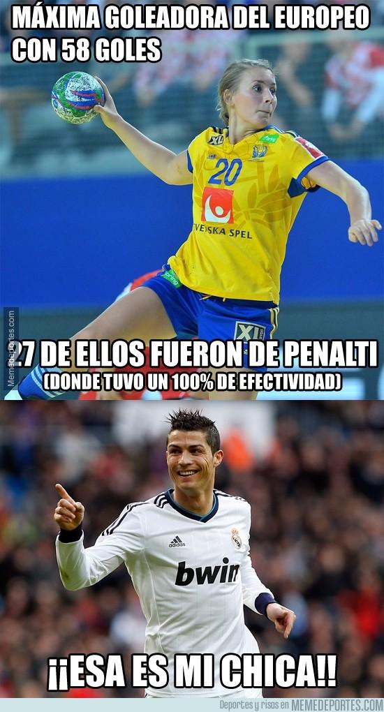 426273 - ¿Irina Shayk? No, la mujer ideal para Cristiano Ronaldo se llama Isabelle Gulldén