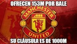 Enlace a El Manchester United se topará con un muro de 1000M por fichar a Bale