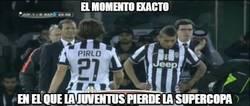 Enlace a El momento exacto en el que la Juve pierde la Supercopa