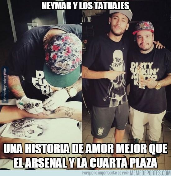 426618 - Neymar y los tatuajes